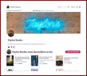 Bookshop Taylor